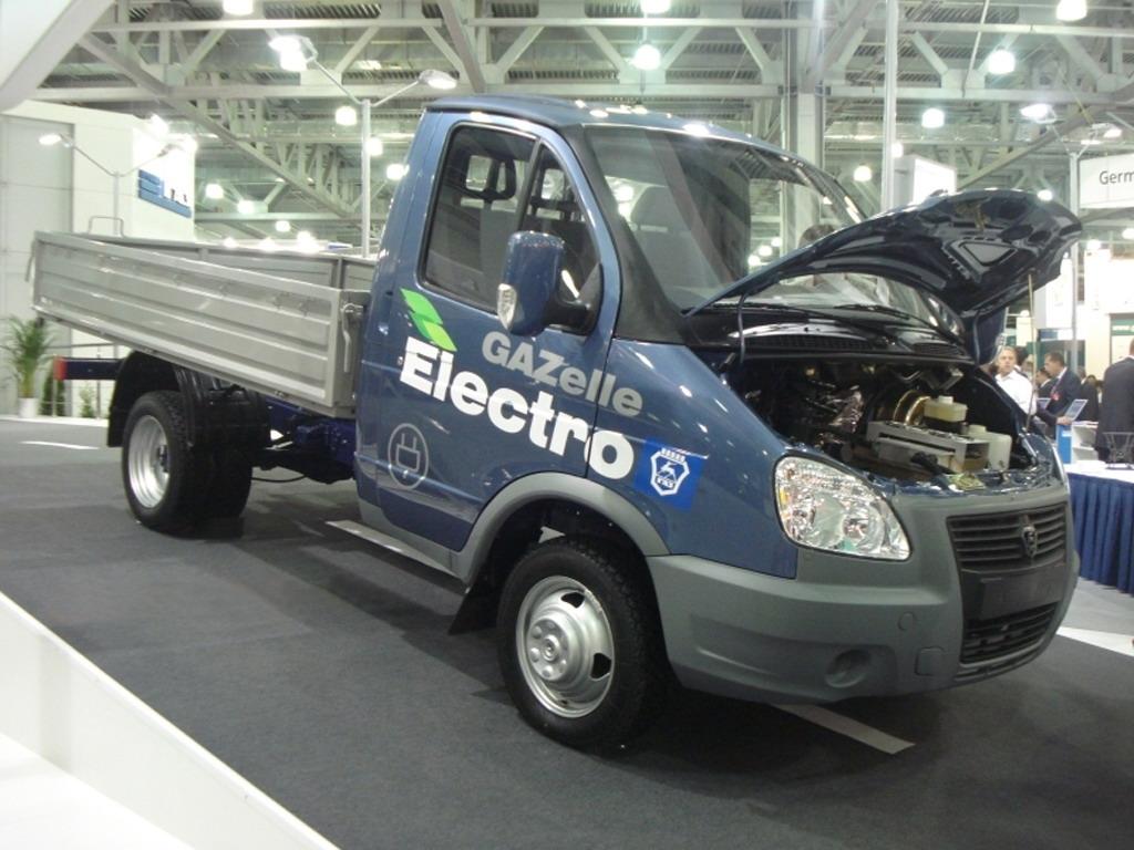 Газель Электро - первый коммерческий экологически чистый автомобиль