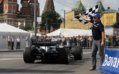 Формула Гибрид на Bavaria Moscow City Racing 2009