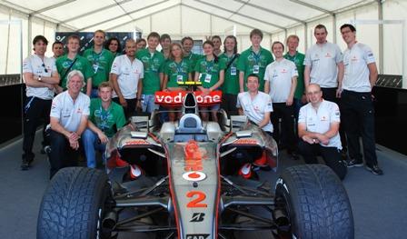 Команда F1 McLaren Mercedes раскрыла секреты студентам МАДИ!