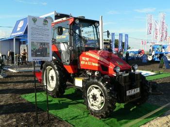 Трактор с гибридным приводом-ищите в поле!