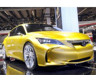 Золотой самурай Lexus