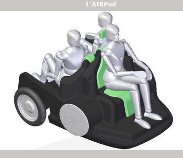 Автомобиль на воздухе! AirPod воздушное чудо света!