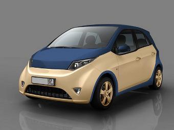 Представлен дизайн гибридного автомобиля Прохорова